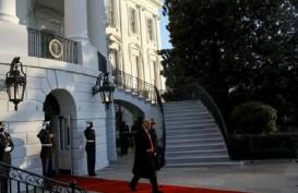 Detik-Detik Trump Akhiri Jabatan Presiden AS dan Tinggalkan Gedung Putih