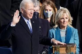 Presiden AS Joe Biden Tiba dengan Selamat di Gedung…