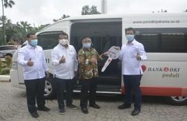 Bank DKI Serahkan 1 Mobil Unit Donor Darah ke PMI