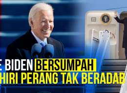 Pernak - Pernik Pelantikan Presiden AS Joe Biden - Kamala Harris