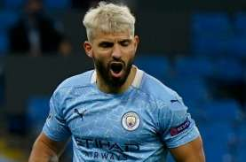 Striker Manchester City Sergio Aguero Positif Covid-19