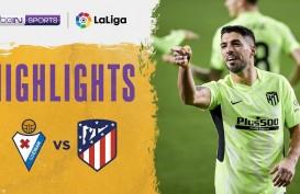 Gasak Eibar, Atletico Madrid Makin Tinggalkan Real Madrid di La Liga