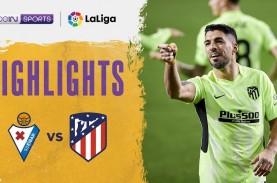 Gasak Eibar, Atletico Madrid Makin Tinggalkan Real…