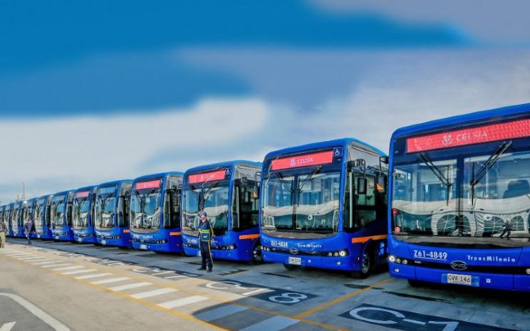 Bus Listrik Baterai BYD. /BYD