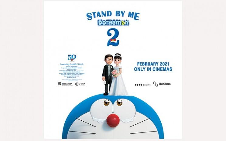 Stand By Me Doraemon 2 akan tayang di Indonesia Februari 2021.  - CBI Pictures