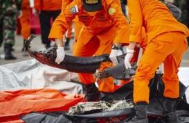 Pencarian Sriwijaya Air SJ182 Dihentikan, RS Polri Terima 325 Kantong Jenazah
