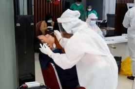 Stasiun Banjar Kini Layani Rapid Test Antigen