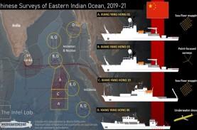 Gawat! Kapal China Diduga Lakukan Pemetaan Bawah Laut…