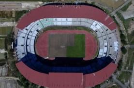 Mantap, Pencahayaan Stadion GBT Sudah Melebihi Standar…