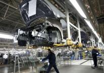 Pabrik Hyundai, industri otomotif Korea Selatan, di Beijing, China./Bloomberg/Tomohiro Ohsumi