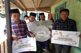 SMI dan BWA Serahkan Bantuan pada Korban Banjir Banten