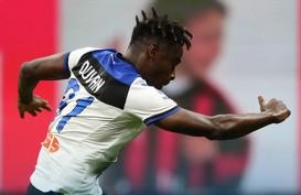 Hasil Liga Italia, Milan Juara Paruh Musim Meski Dihajar Atalanta