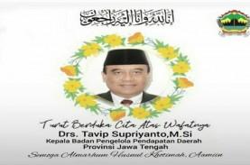 Mantan Pj Wali Kota Semarang Meninggal akibat Covid-19,…