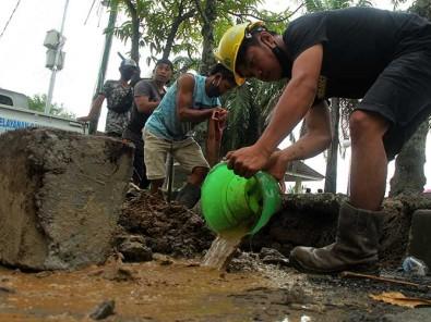 Delapan Ribu Pelanggan PDAM di Mamumju Sulbar Tidak Mendapat Suplay Air Akibat Saluran Air Bocor