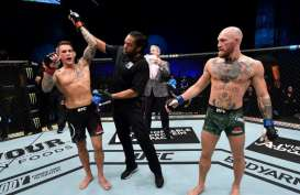 Kembali ke Panggung UFC, Conor McGregor Dipukul KO Dustin Poirier