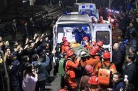 Sembilan Orang yang Terjebak di Tambang Emas China…
