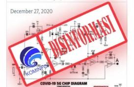 Cek Fakta : Diagram Chip 5G pada Vaksin Covid-19