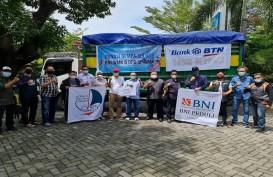 Kolaborasi BNI bersama BTN dan Jamkrindo Salurkan Bantuan untuk Sulbar