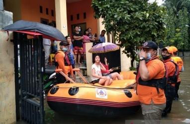 Luapan Kali Sekunder Picu Banjir di Sejumah Titik Kota Bekasi