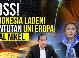 Tak Gentar, Indonesia Ladeni Tuntutan Uni Eropa soal Ekspor Nikel