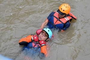 Pelatihan Penanggulangan Banjir di Sungai Ciliwung Jawa Barat