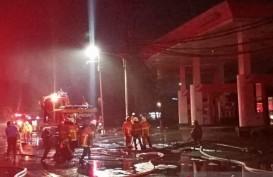 Sebuah SPBU di Surabaya Meledak Sebanyak Lima Kali