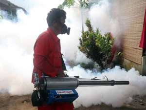 Antisipasi Demam Berdarah, Kota Kediri Mulai Dilakukan Fogging
