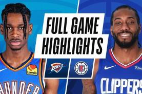 Hasil Basket NBA, LA Clippers Lanjutkan 7 Kemenangan…