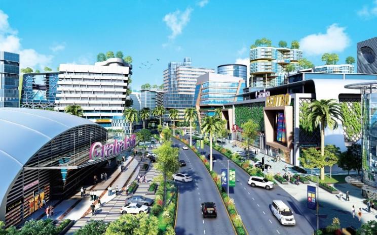 Kota Deltamas, proyek  PT Puradelta Lestari Tbk. (DMAS).