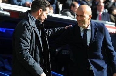 Atletico 7 Poin Tinggalkan Real Madrid, Simeone Tak Mau Bicara Juara