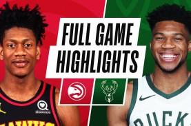 Hasil Basket NBA : Bucks Hajar Hawks, Antetokounmpo…
