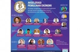 Bahas Pemulihan Ekonomi, Ridwan Kamil, Airlangga Sampai Bos OJK Nimbrung di Diskusi BIBC