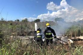 Presiden & Pemain Klub Brasil Tewas Kecelakaan Pesawat…