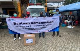 Peduli Korban Bencana Banjir Kalsel, Karyawan dan Karyawati Angkasa Pura I Balikpapan Beserta Komunitas Bandara SAMS Sepinggan Berikan Bantuan