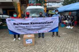 Peduli Korban Bencana Banjir Kalsel, Karyawan dan…