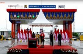 Jokowi Resmikan Jalan Tol Kayuagung-Palembang, Waktu Tempuh Hemat 75 Persen