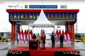 Jokowi Resmikan Jalan Tol Kayuagung-Palembang, Waktu…