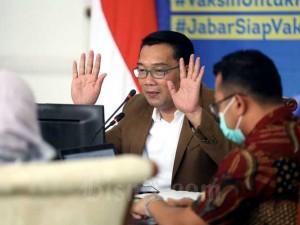 Ridwan Kamil Berbicara Terkait Kesuksesan Vaksinasi Akan Mendorong Ekonomi Dalam Acara BIBC 2021