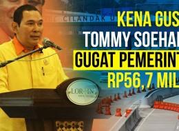 Gara-gara Lahan Tergusur Proyek Tol, Tommy Soeharto Gugat Pemerintah?