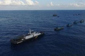 Gelar Operasi di Selat Malaka, KKP Amankan 3 Kapal…