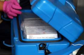 Pengiriman Tahap III Riau Terima 24.640 Dosis Vaksin…