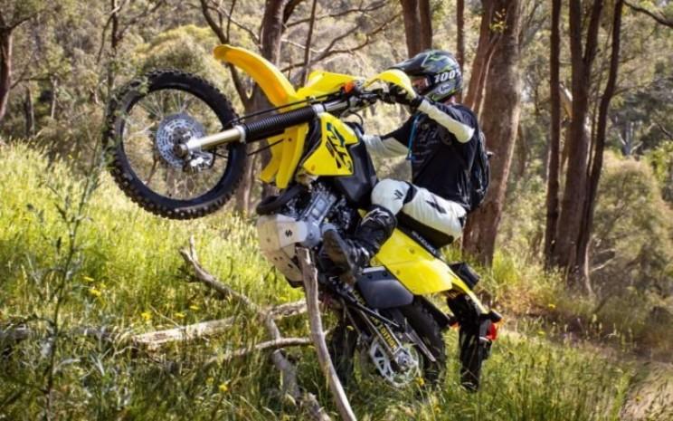 Suzuki DR. Sepeda motor off-road juga mencatat pertumbuhan penjualan yang kuat di Australia.  - Suzuki.
