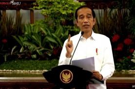 Kasus Covid-19 Tembus 1 Juta, Jokowi Minta PPKM Dievaluasi