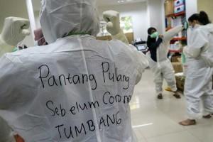 Kasus Positif Covid-19 di Indonesia Tembus Satu Juta Kasus