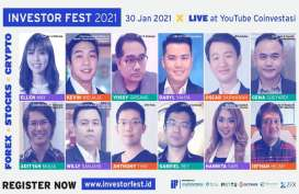 Investor Fest 2021 Kupas Investasi dari Forex dan Cryptocurrency