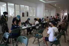 VAKSIN COVID-19 : Vaksinasi Semarang Temui Kendala