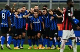 Inter Singkirkan Milan, Lolos ke Semifinal Coppa Italia