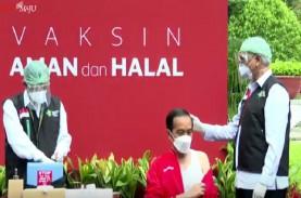 Presiden Jokowi Disuntik Vaksin Dosis Kedua, Ini yang…