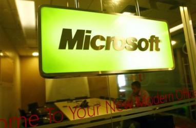 Penjualan Microsoft Naik 17 Persen, Terdongkrak Komputasi Awan