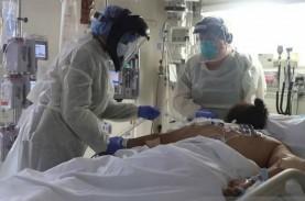 Kematian Akibat Covid-19 di AS Tetap Tinggi, Meski…